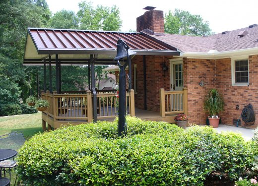 Patio cover near Anderson, SC