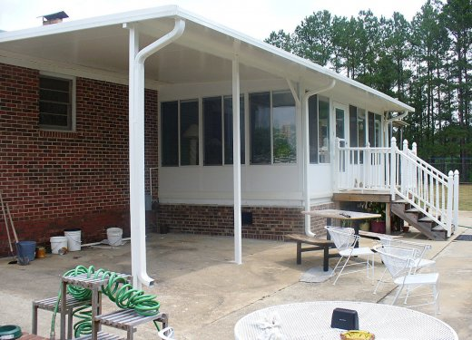 Glassroom carport combination Greenwood, SC